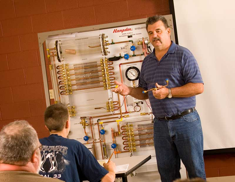 instructor horizontal