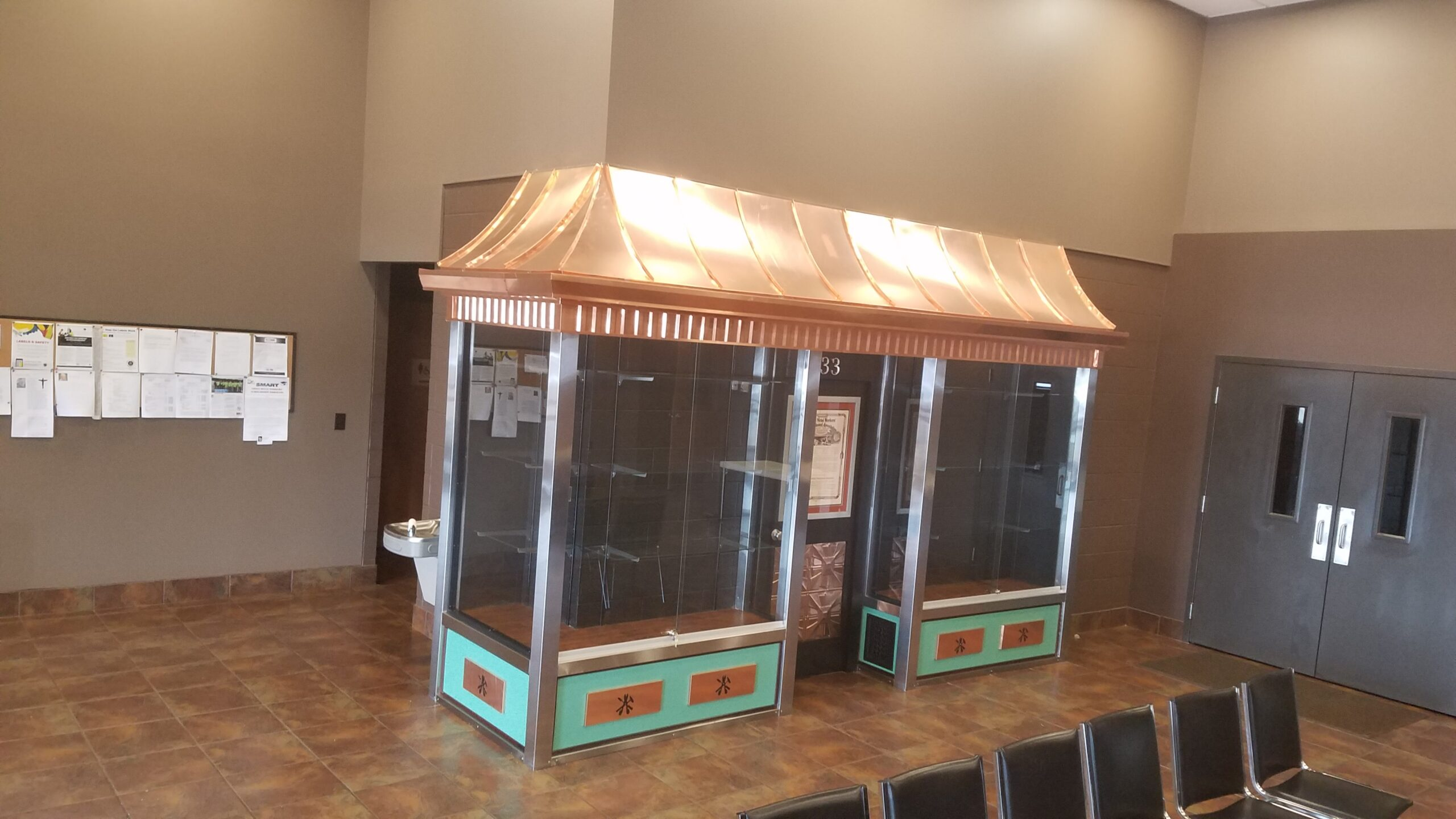 Showcase at the Youngstown District Union Hall, Finished.