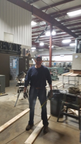 Youngstown Retiree, George Kirally Jr., Building the Showcase.